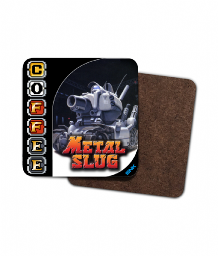 Retro Gaming Metal Slug Weapons Capsule Coffee Single Coaster